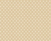 Sara Morgan for Blue Hill Fabrics, Holiday Heritage, Stars and Dots in Tan 7510.8 - 1/2 Yard