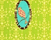 1 Yard - Tina Givens - Fairy Tip Toes - Chandelier Medallion in Green