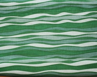 Windham, Anna Griffin, Riley, Banner Stripes in Green (29250-4) - 1 Yard Clearance