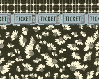 American Jane for Moda, Punctuation, Basics in Black 21408.17 - 1/2  Yard