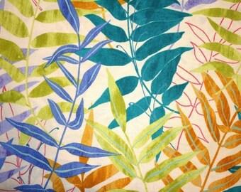 Sandra Banava for Robert Kaufman, Whispering Woods in Jewel (8294-201) - 1 Yard Clearance