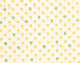 Jody Taylor for Riley Blake, Nantucket Summer, Dots in Green and Yellow C3505 - 1 Yard