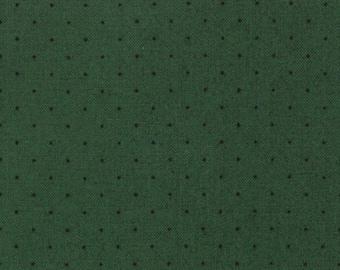 American Jane for Moda, Le Petit Poulet, Pin Dot in Green 21098-66 - 1/2 Yard