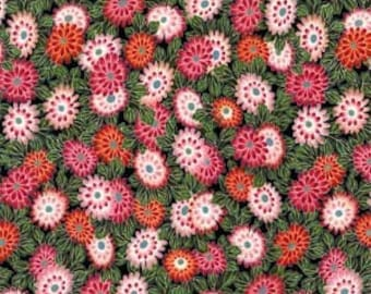 Michael Miller-Oriental Blossom in Rose- 1 Yard Clearance