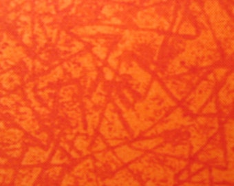 Terry Perry for Northcott Fabrics, Dino Sports in Orange - 1 Yard Clearance