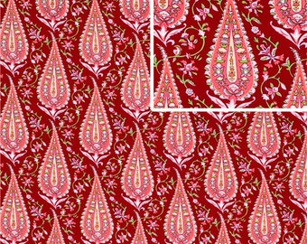 Amy Butler, Love, Cypress Paisley in Wine AB47 - 1 Yard