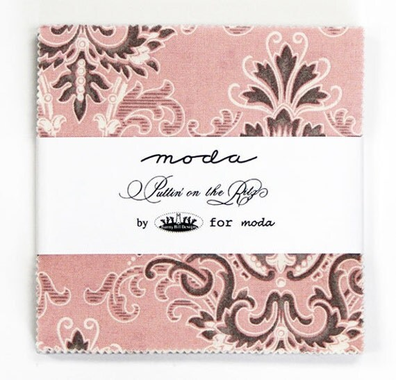 Bunny Hill Designs for Moda, Puttin on the Ritz Charm Pack