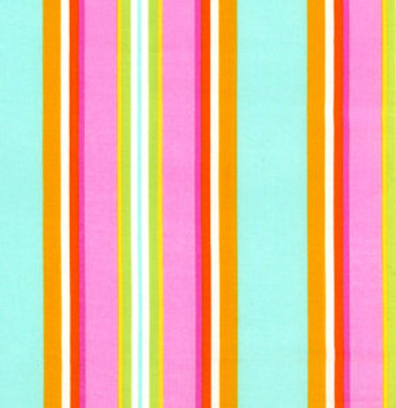 Dena Designs, Monaco, Narrow Stripe in Fuchsia DF 39 - 1 Yard