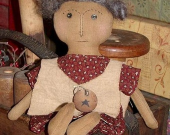 Primitive Rag Doll Pattern Primitive Jo