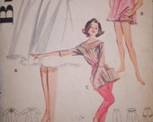 Hip and Cool Vintage Casuals Sewing Pattern Capris Nightie Tunics