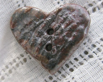 Woodfired Hearts Buttons