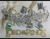 The LORD Of The RINGS Chain Mail Charm Bracelet