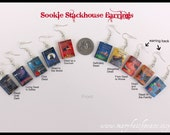 Sookie Stackhouse Inspired EARRINGS from Durable Clay