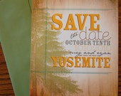 yosemite save the date- personalized sample