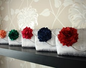 set of six bridesmaid gifts... customize your own clutches