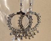 Silver Lace Drops
