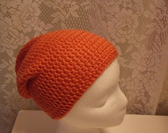 Persimmon Slouchy Hat