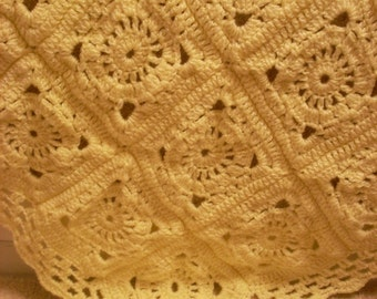 Victorian Lace Baby Afghan