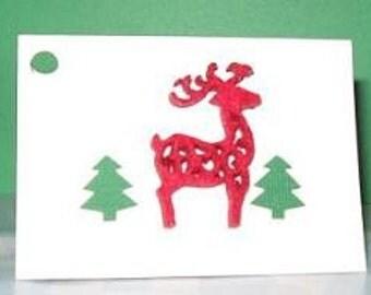 Reindeer Gift Tag
