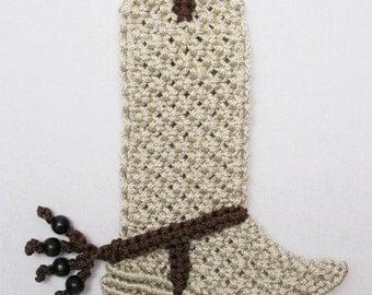 Macrame Buckero boot