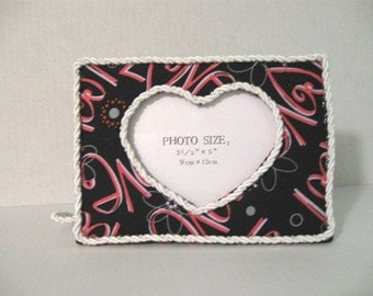 Love and Heart Photo frame