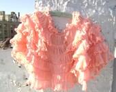 Vintage handmade shawl