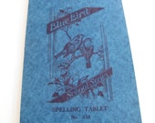 Special Listing for Trafalgar's Square - Vintage 1930s Blue Bird Spelling Tablet