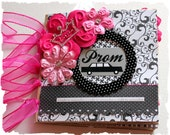 The PROM - A Night to Remember - 6 x 6 Premade Mini Scrapbook Paper Bag Album