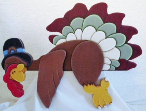 Thanksgiving Day Turkey Shelf Sitter Crafts Thanksgiving Decorations