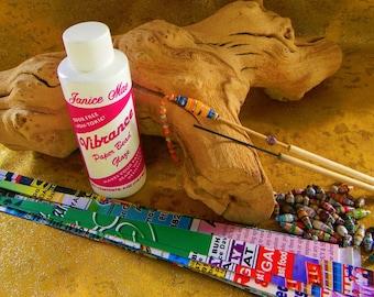 Metal & Bamboo Paper Bead Roller Kit