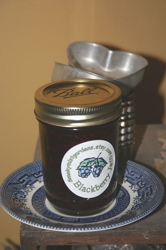 Blackberry  Jam Made in the Foothills of the Smoky Mountains
