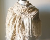 Caramel Hand Crocheted Shawl