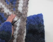 Infinity Cowl with Fingerless Gloves Mittens, Fall Spring Hand Knit For Her Winter Fall Holiday Accessories READY TO SHIPPING
