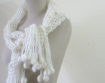 Ivory Scarf READY TO SHIPPING