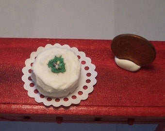 Jelly Bean Easter Cake Dollhouse Miniature