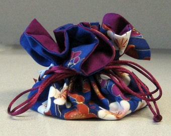 JEWELRY BOMB CUSTOM drawstring jewelry bag - pick your fabric
