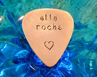 name Guitar Pick- all lower case