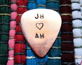Initials, Guitar Pick