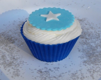 Star Fondant Cupcake Toppers