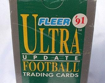 1991 Fleer Ultra Football Update Set Brett Favre Rookie RC
