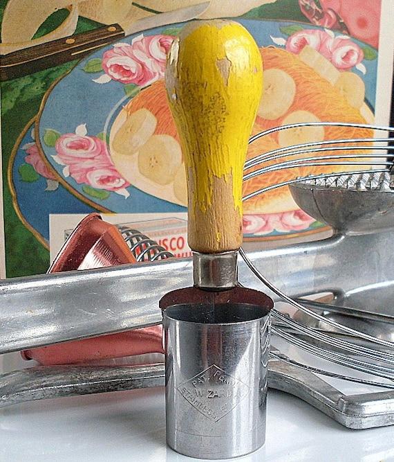 Kitchen Gadget Wizard Chopper Vintage Steel Cutter Etsy