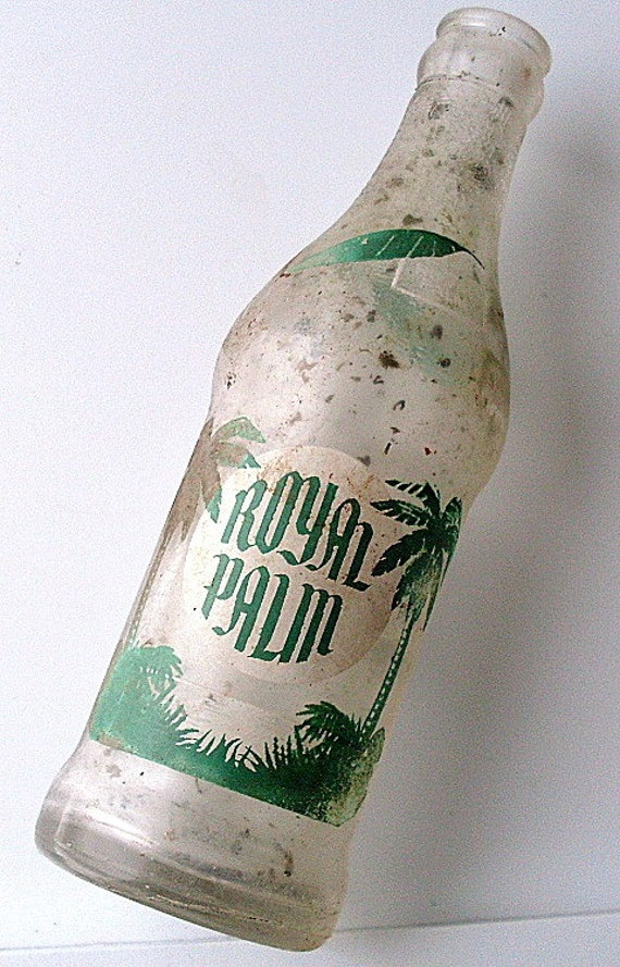 Vintage Royal Palm Antique Bottle Dug Coca Cola Duraglas Soda