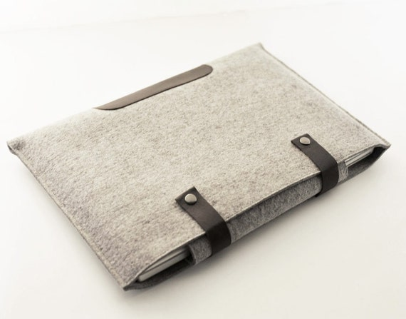 New Design - 13 Inch Laptop Sleeve - Double Snap