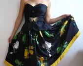 reserved for IBUK   JAQUELINE French Vintage Party Dress frem CANNES