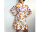 CARLA French Vintage 60s Tea Party Dress