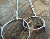 I n t e r l o c k  necklace sterling