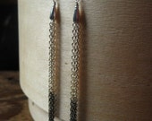 RESERVED for Erin///O m b r e  fringe earrings