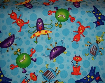 Shopping Cart Safety Harness - Aliens wrap and orange strap