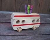 Wooden RV Crayon Holder (2)