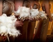 SALE Deposit for Custom Feather Bouquets for you and/or your Bridesmaids